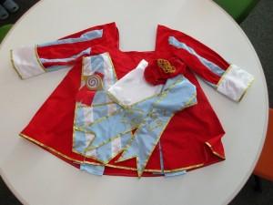 ぽりんちゃんの着た衣装